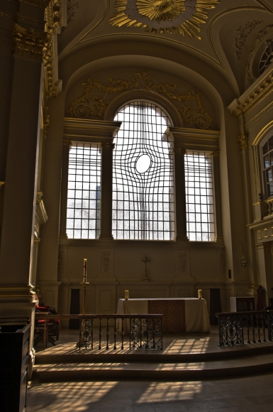 Shirazeh Houshiary and Pip Horne, East Window, 2008