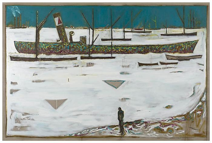 BILLY CHILDISH Frozen Estuary – Off Chatham, 1895, (Version Y), 2012