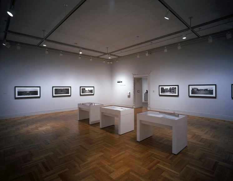 Installation view of Catherine Opie:in between here and thereat the Saint Louis Art Museum, Saint Louis