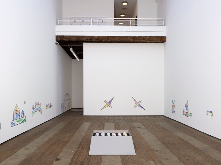 ROBIN RHODE: Paries Pictus Installation view 3