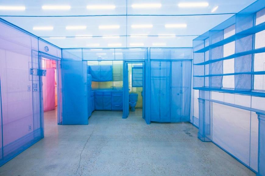 Installation view,Do Ho Suh, The Contemporary Austin – Jones Center