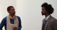 Nicholas Hlobo in conversation with curator Tumelo Mosaka