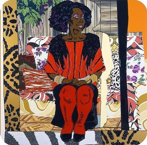 MICKALENE THOMAS Sandra: She's a Beauty, 2009