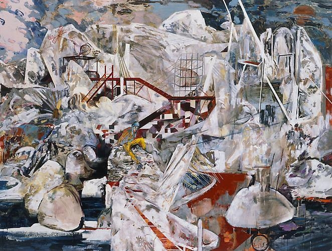 HERNAN BAS Mystery Bouf (or, the kingdom after the flood), 2009
