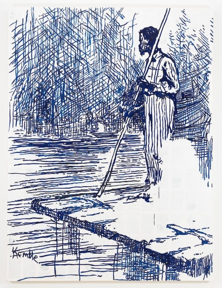 提姆·ç¾…林斯與K.O.S Adventures of Huckleberry Finn - On the Raft (after Mark Twain), 2011