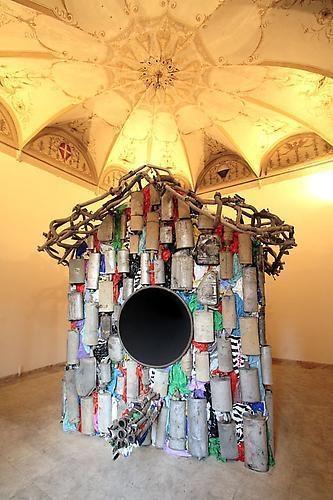 NARI WARD Silent Birdhouse, 2005-2006