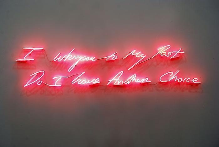TRACEY EMIN I Whisper to My Past, Do I have Another Choice, 2010