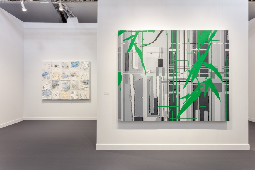 Lehmann Maupin's art fair booth at Frieze Los Angeles 2020 view 6