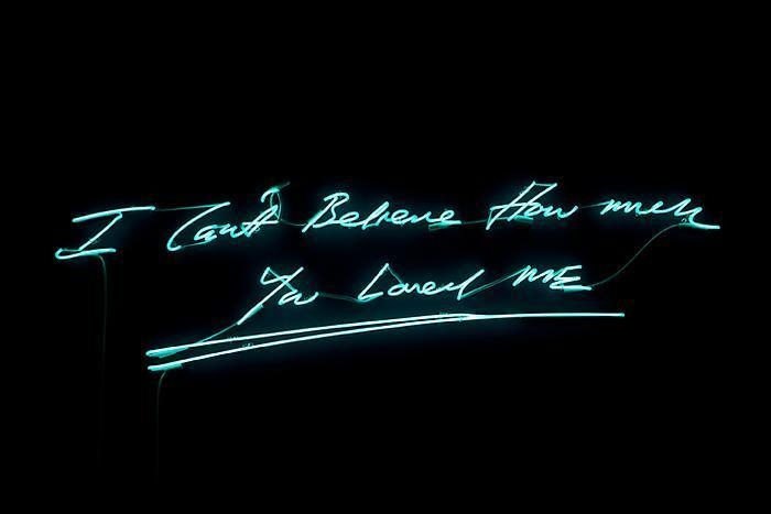 TRACEY EMIN I can't believe how much you loved me, 2012