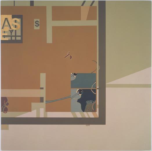 Loquita, 2000 acrylic on wood panel