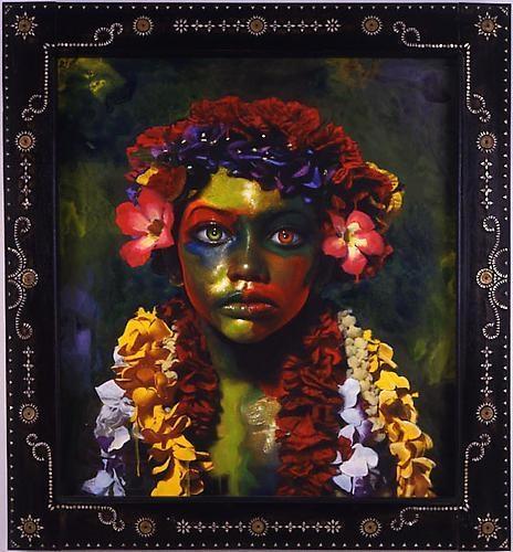 ASHLEY BICKERTON Hula Boy (Colored), 2006