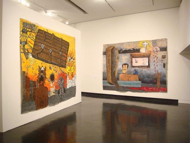 Installation view at The Tang Museum at Skidmore College, 2009