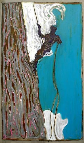 BILLY CHILDISH Toni Kurz Descending (study 1), 2011