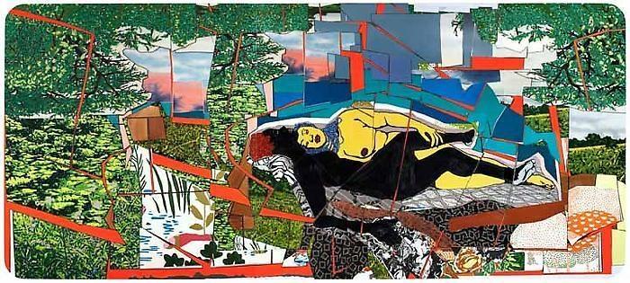 MICKALENE THOMAS Sleep: Deux Femmes Noires, 2011
