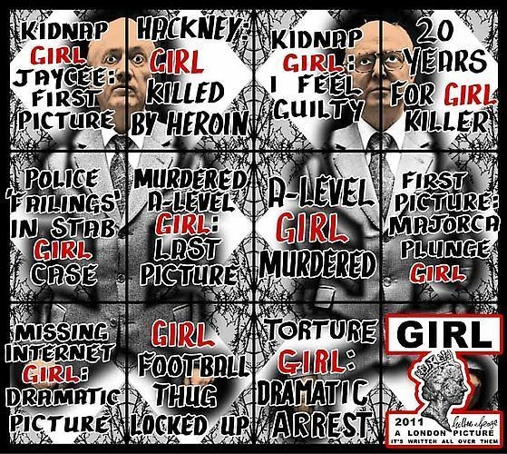 GILBERT & GEORGE, 	Girl, 2011