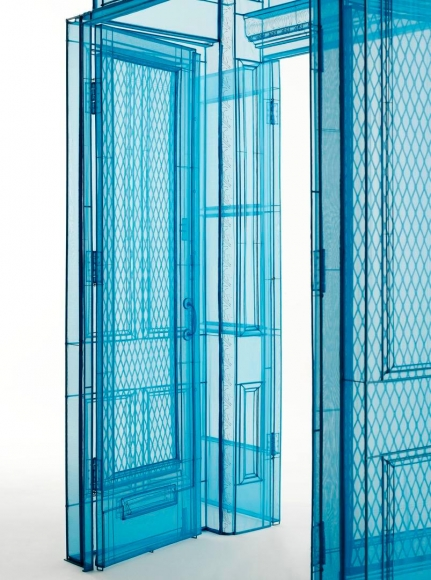 DO HO SUH, 	Main Entrance, 348 West 22nd Street, New York, NY 10011, USA (detail),2016