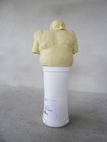 ERWIN WURM Double White Bucket (Synthesa), 2013