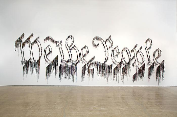 Nari Ward Installation view, We the People