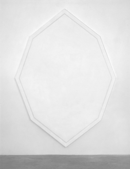 瑪麗·ç§'西  Untitled (Octagonal White), 1964