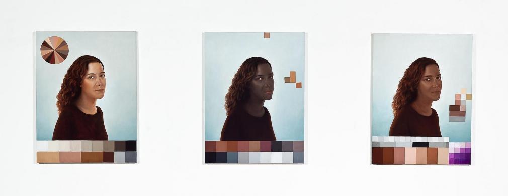 ADRIANA VAREJÃO Polvo Portraits I (Seascape Series), 2014