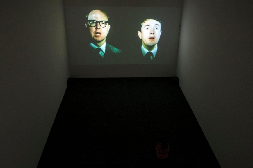 Gilbert & George Films and Video Sculptures, 1972-1981 Installation view 1