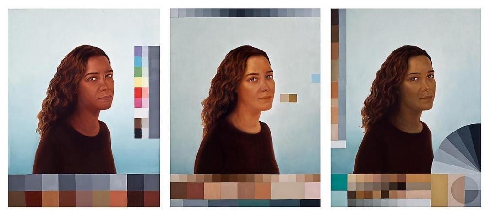 阿德里安娜·瓦萊喬 Polvo Portraits III (Seascape Series), 2014