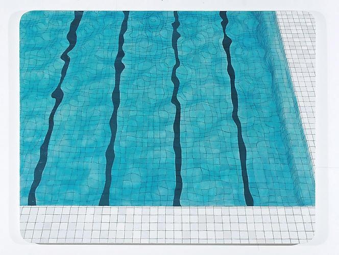ADRIANA VAREJÃO Swimming Pool, 2005