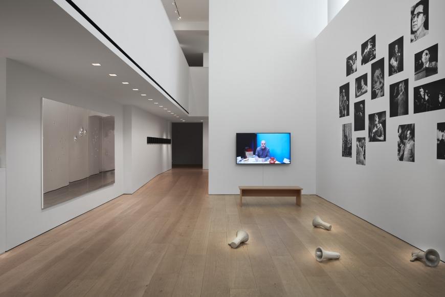 Kader Attia,Mirrors of Emotion, Installation view, Lehmann Maupin, New York