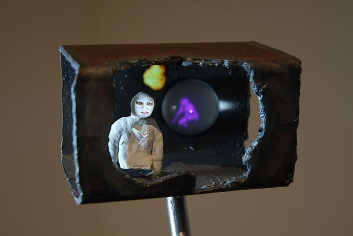 TONY OURSLER Bunker (detail), 2010