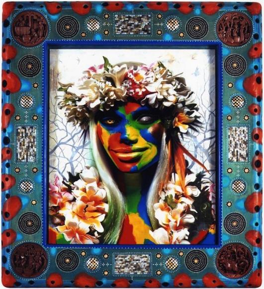 ASHLEY BICKERTON Hula Girl: One Eye, 2007