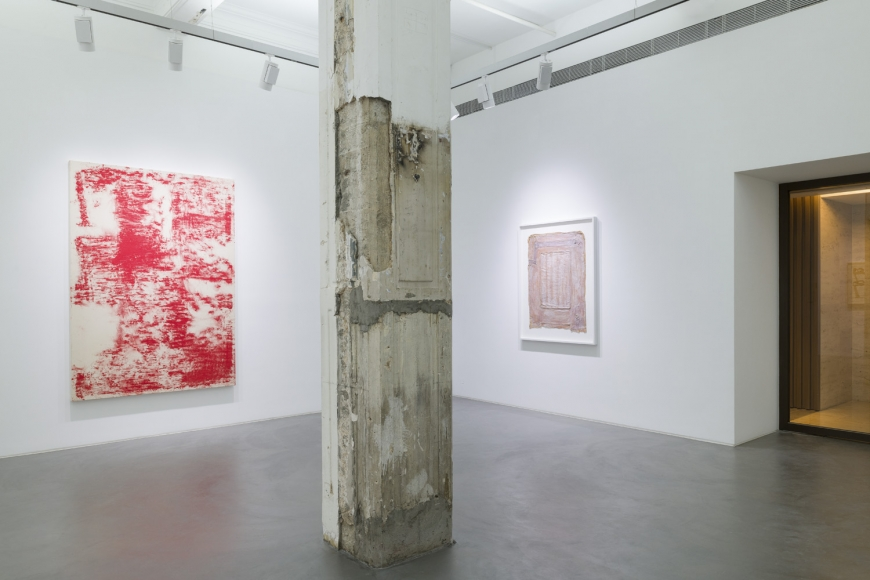 Third installation view of the group exhibition be/longing at Lehmann Maupin Hong Kong