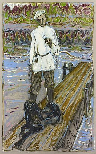 BILLY CHILDISH Rachmaninov (Dog and Man), 2011