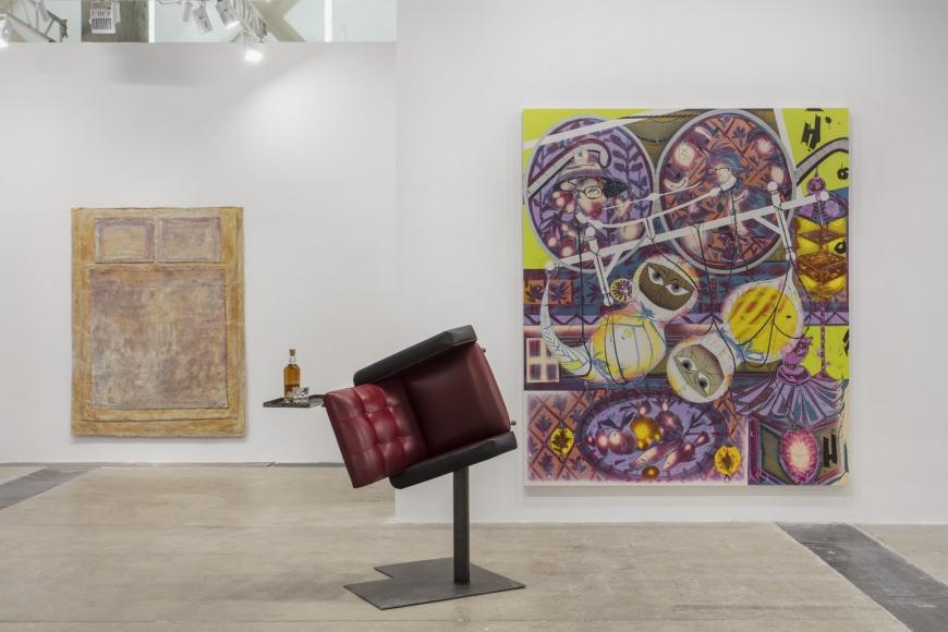 Installation view of Lehmann Maupin's booth at West Bund Art & Design 2019 in Shanghai, view 10