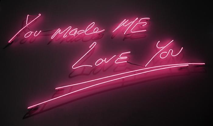 TRACEY EMIN You made ME LOVE You, 2010