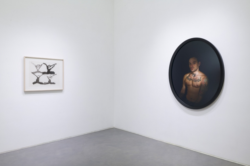 Eighth installation view of the group exhibition be/longing at Lehmann Maupin Hong Kong