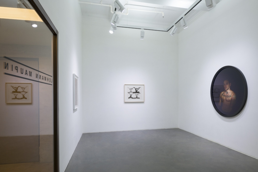 Tenth installation view of the group exhibition be/longing at Lehmann Maupin Hong Kong
