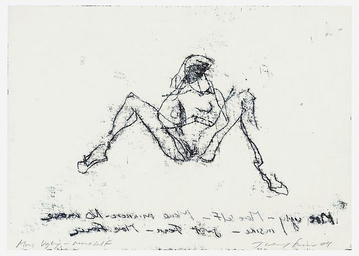 TRACEY EMIN More Ugly-More Self, 2009