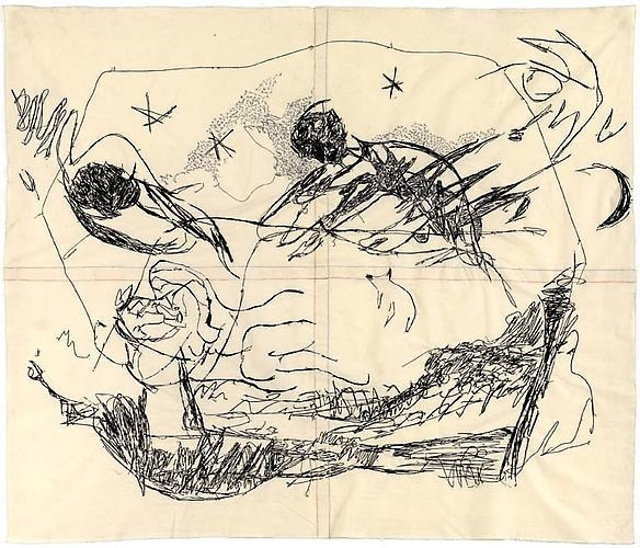 TRACEY EMIN It Just Happened Nightmare Drawing, 2010