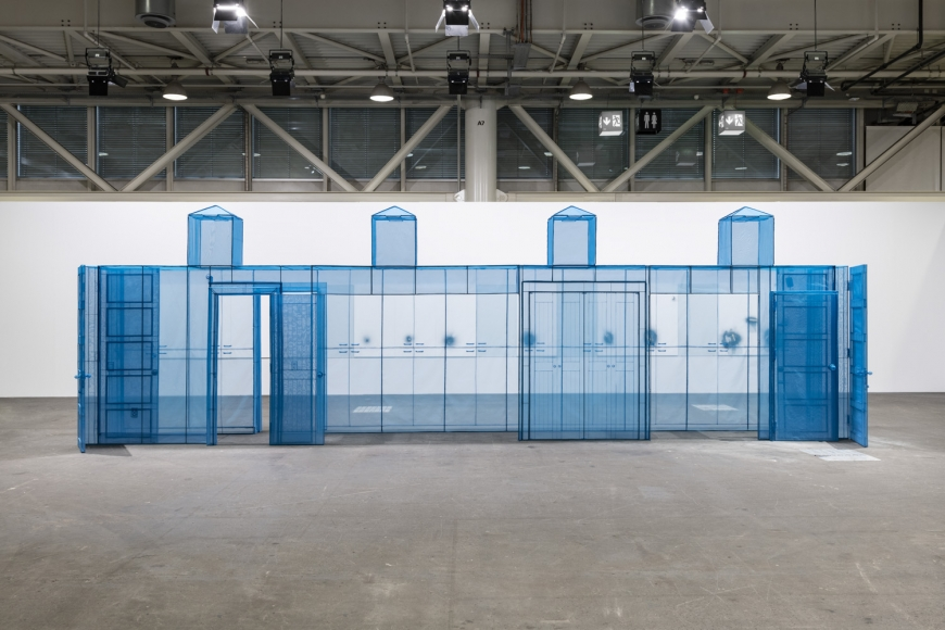 Do Ho Suh artwork in Art Basel Unlimited sector, perspective 2