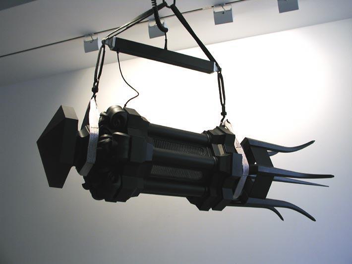 Lantern Shuttlecock (Black Mihrab), 2003