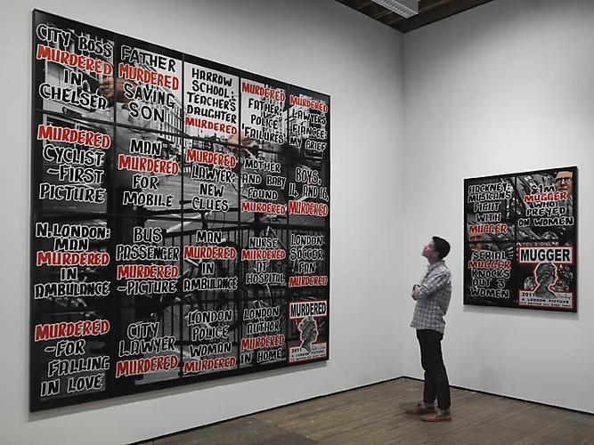Gilbert & George: London Pictures Installation View 4