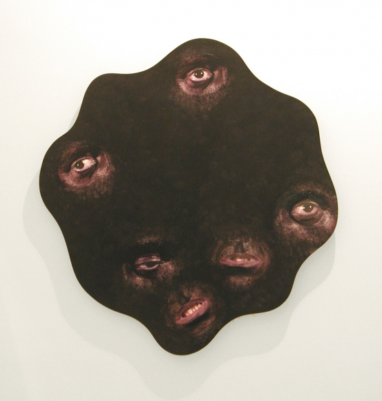 TONY OURSLER, to be titled, 2004