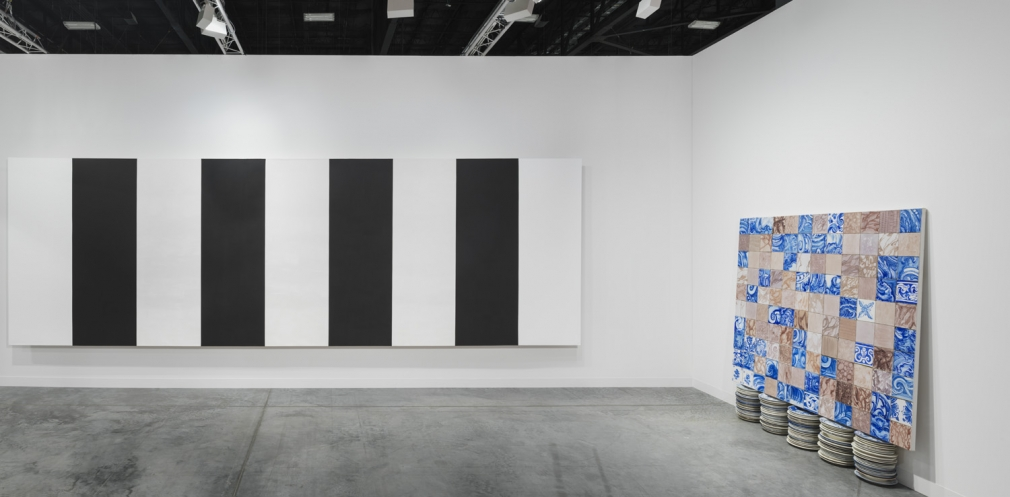 Installation view of Lehmann Maupin's booth at Art Basel Miami Beach 2018, view 7