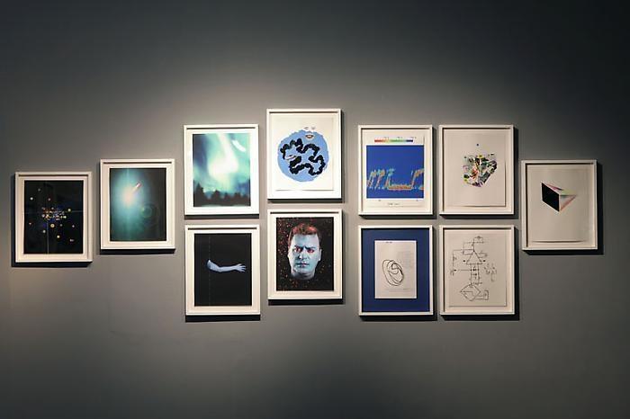 TONY OURSLER Untitled (Blue), 2005