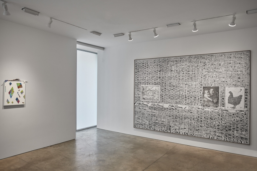 cart, horse, cart, Installation view at Lehmann Maupin, New York 24th Street