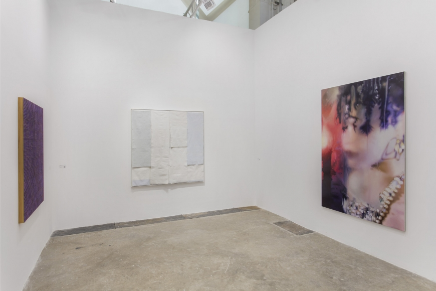Installation view of Lehmann Maupin's booth at West Bund Art & Design 2019 in Shanghai, view 7