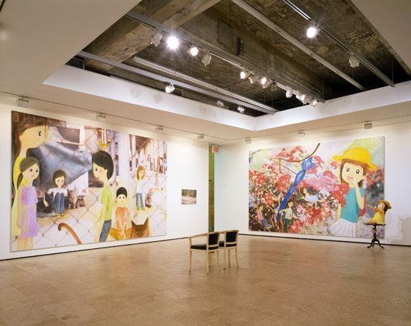 Rei Sato, Summer 2008 installation view 4