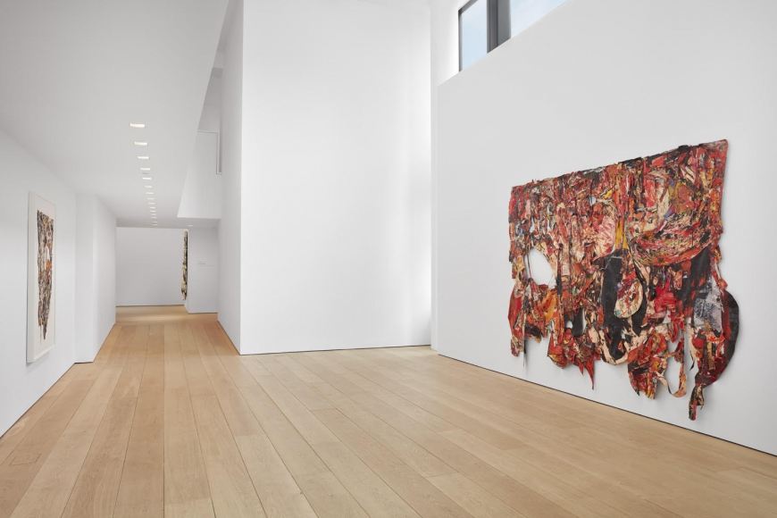 Angel Otero, Milagros, Installation view, Lehmann Maupin, New York, 2019