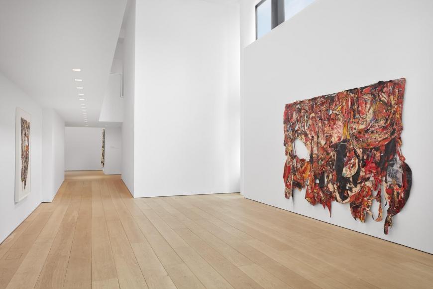 Angel Otero, Milagros, Installation view, Lehmann Maupin, New York, 2019