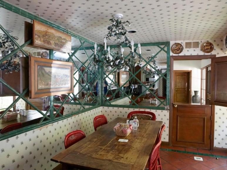 CATHERINE OPIE Kitchen Tablefrom the700 Nimes Road Portfolio,2010-11
